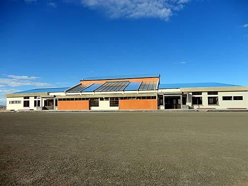 Uyuni Airport La Joya Andina exterior