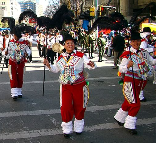 Kallawayas - Oruro Carnival Dance, Oruro Carnival Dance