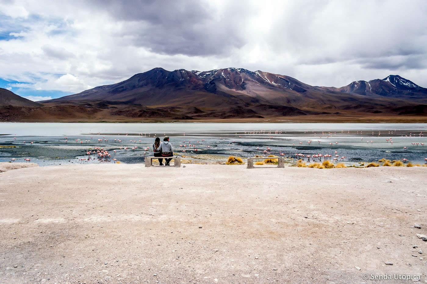 Stinking-Lagoon, Laguna Hedionda, Uyuni, Bolivia