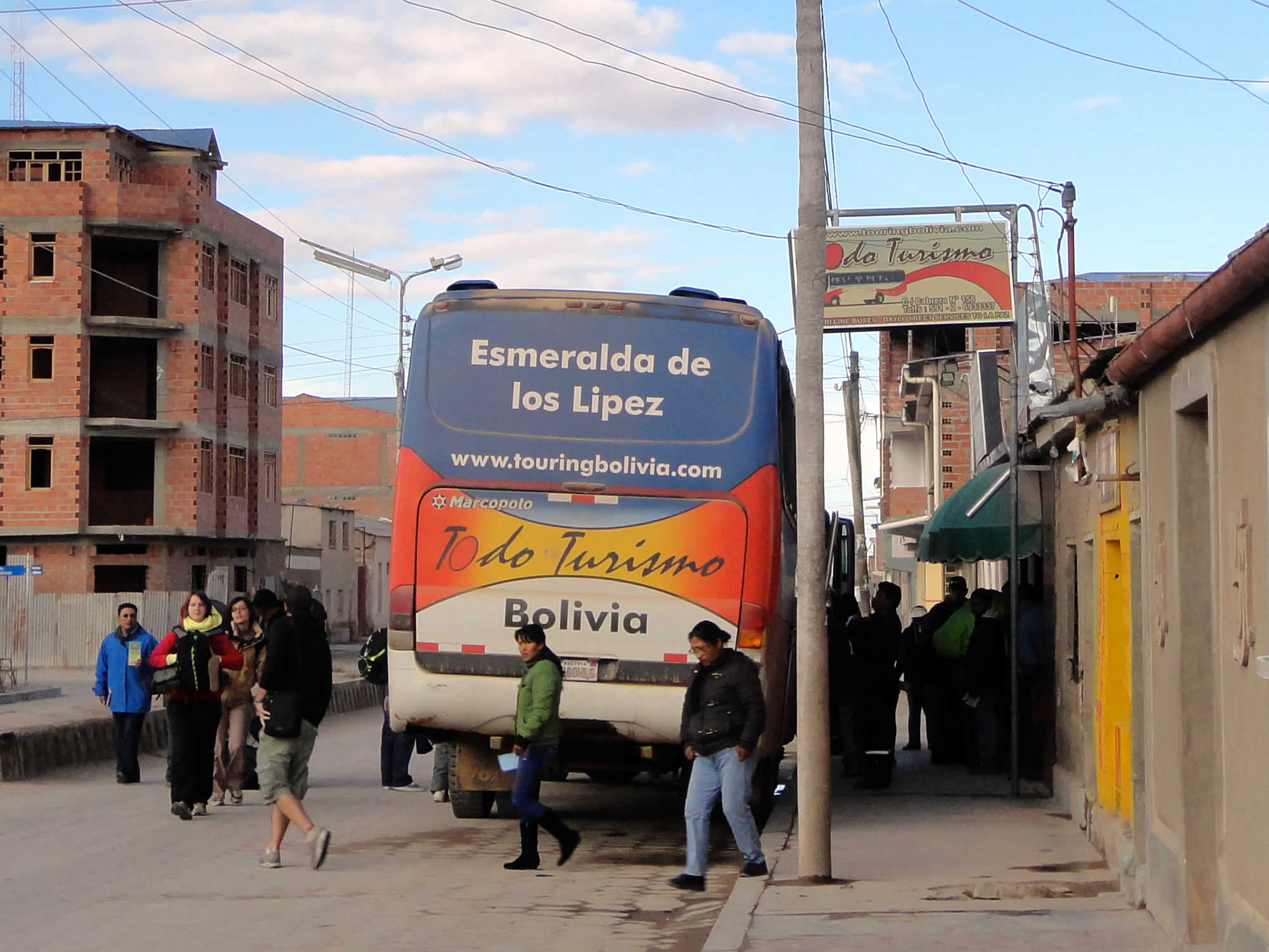 Todo Turismo bus in Uyuni
