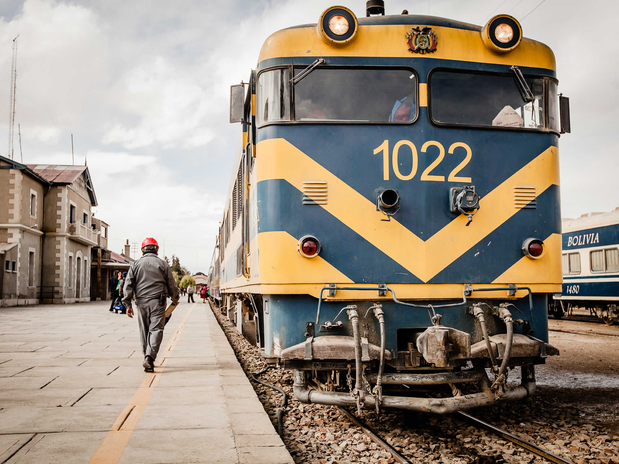 Trains in Bolivia