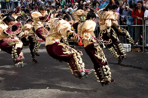 Caporales Dance at the Oruro Carnival