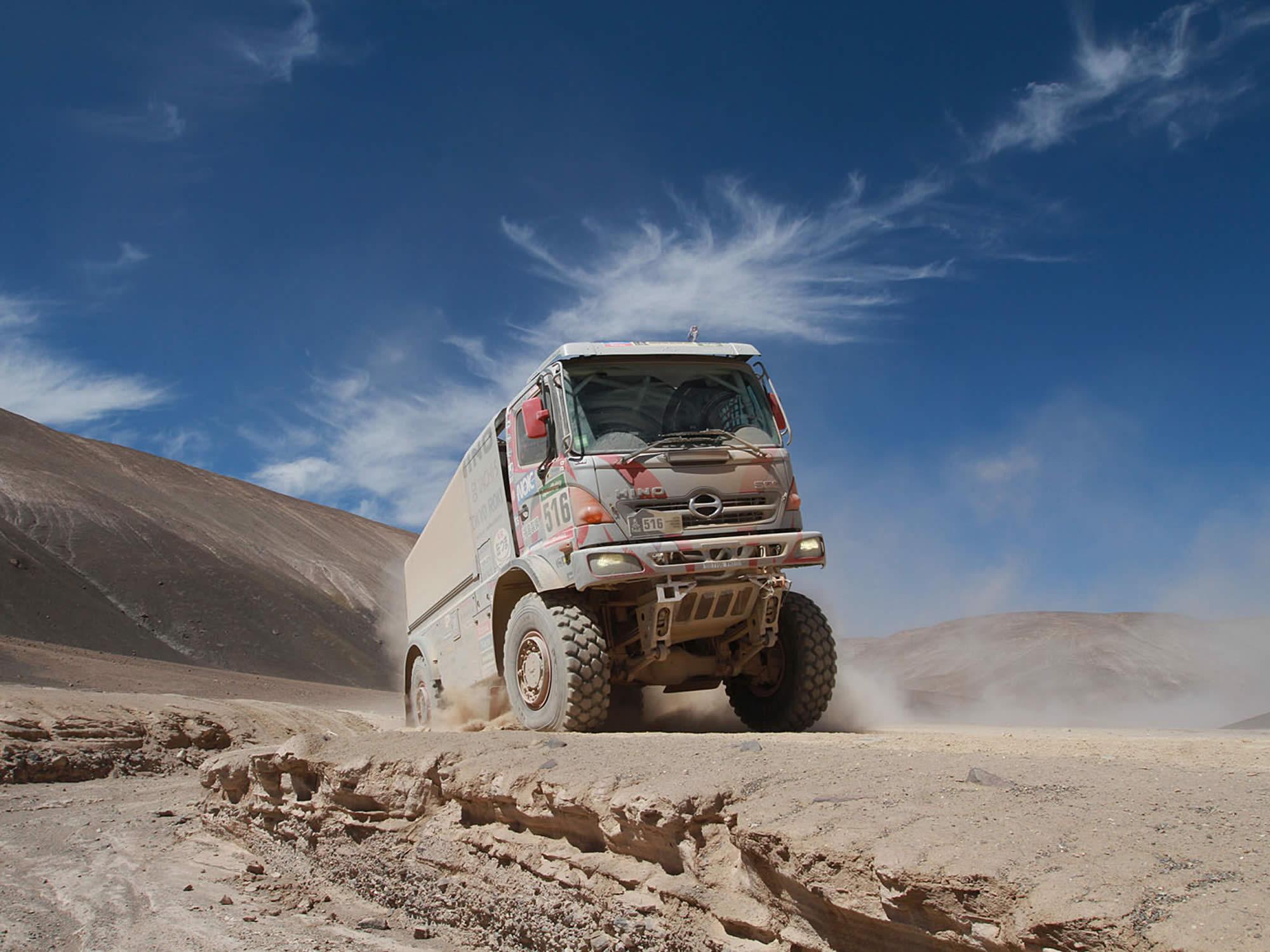 Rally Dakar, Uyuni, Bolivia