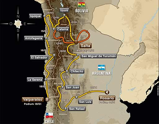 Dakar 2019 in Bolivia