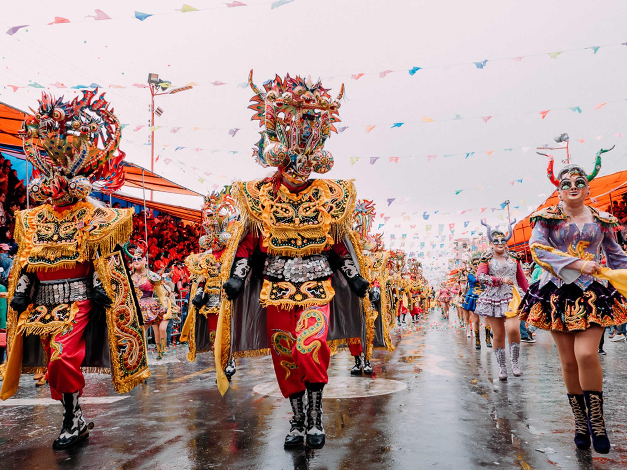 La Diablada - Oruro Carnival Dance