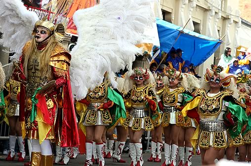 Diablada Dance at the Oruro Carnival