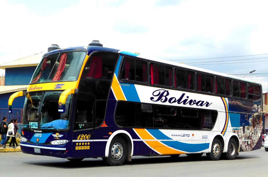 Transportation in Bolivia - Bus, Micro, Minibus, Taxi, Trufi