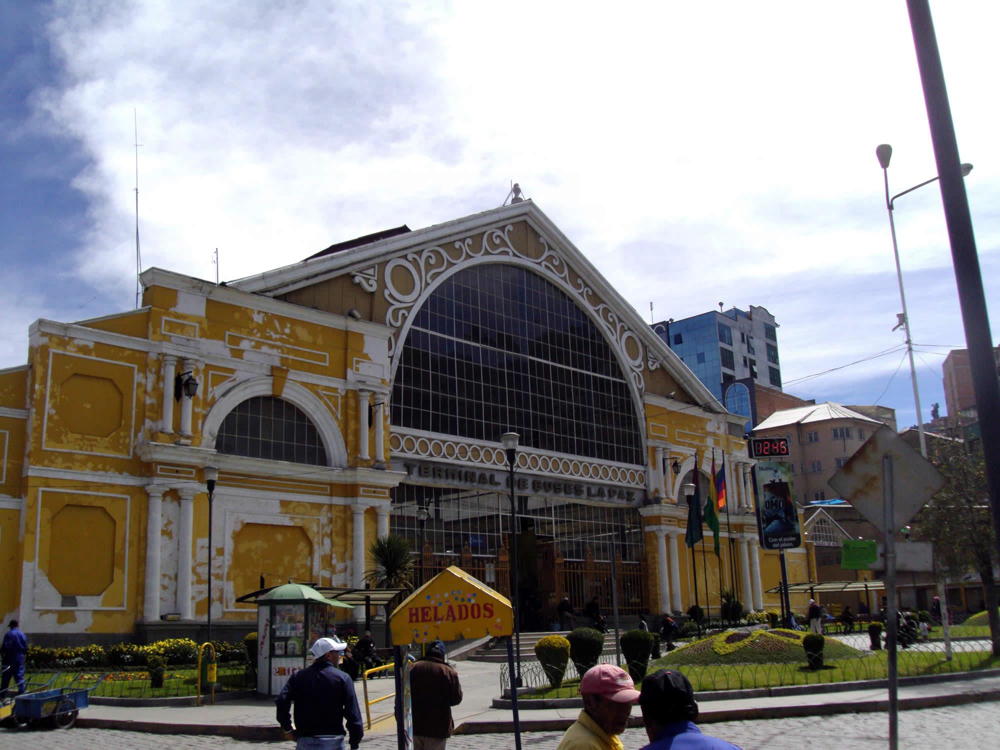 La Paz Bus Terminal, La Paz