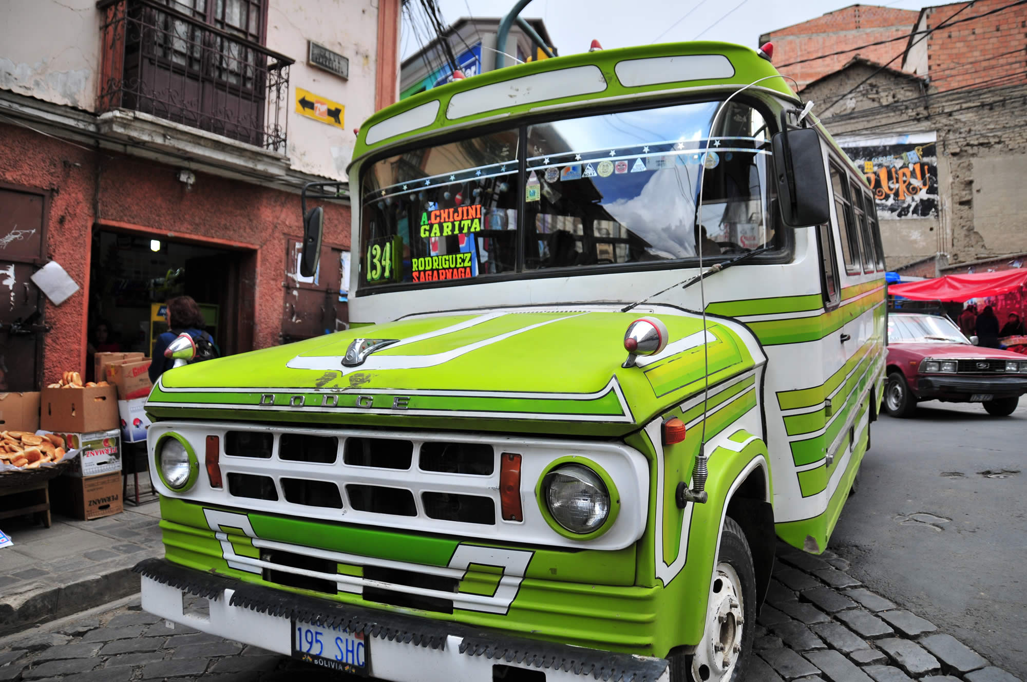 Transportation in Bolivia - Bus, Micro, Minibus, Taxi, Trufi, Information
