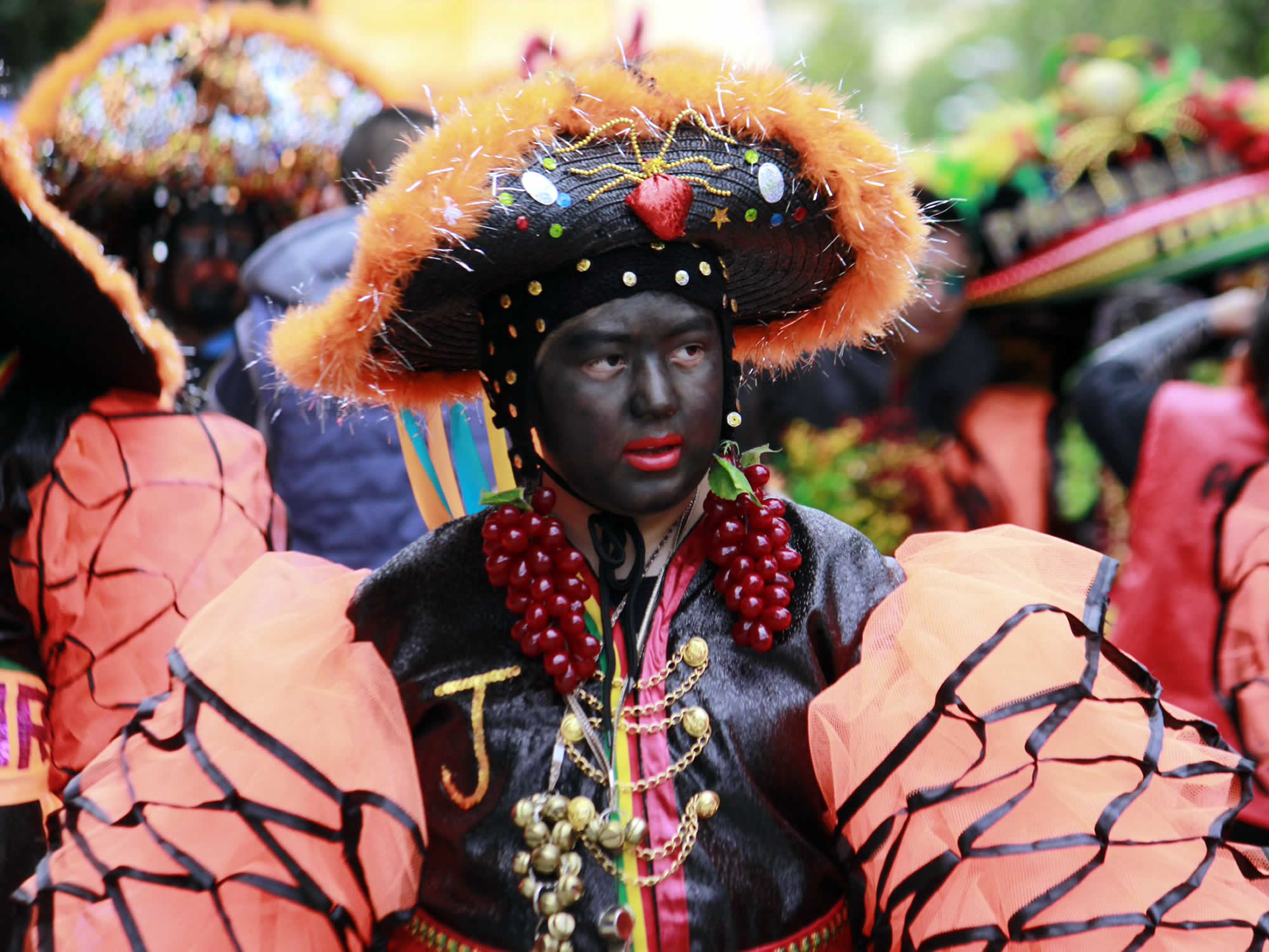 Negritos Dance at the Oruro Carnival