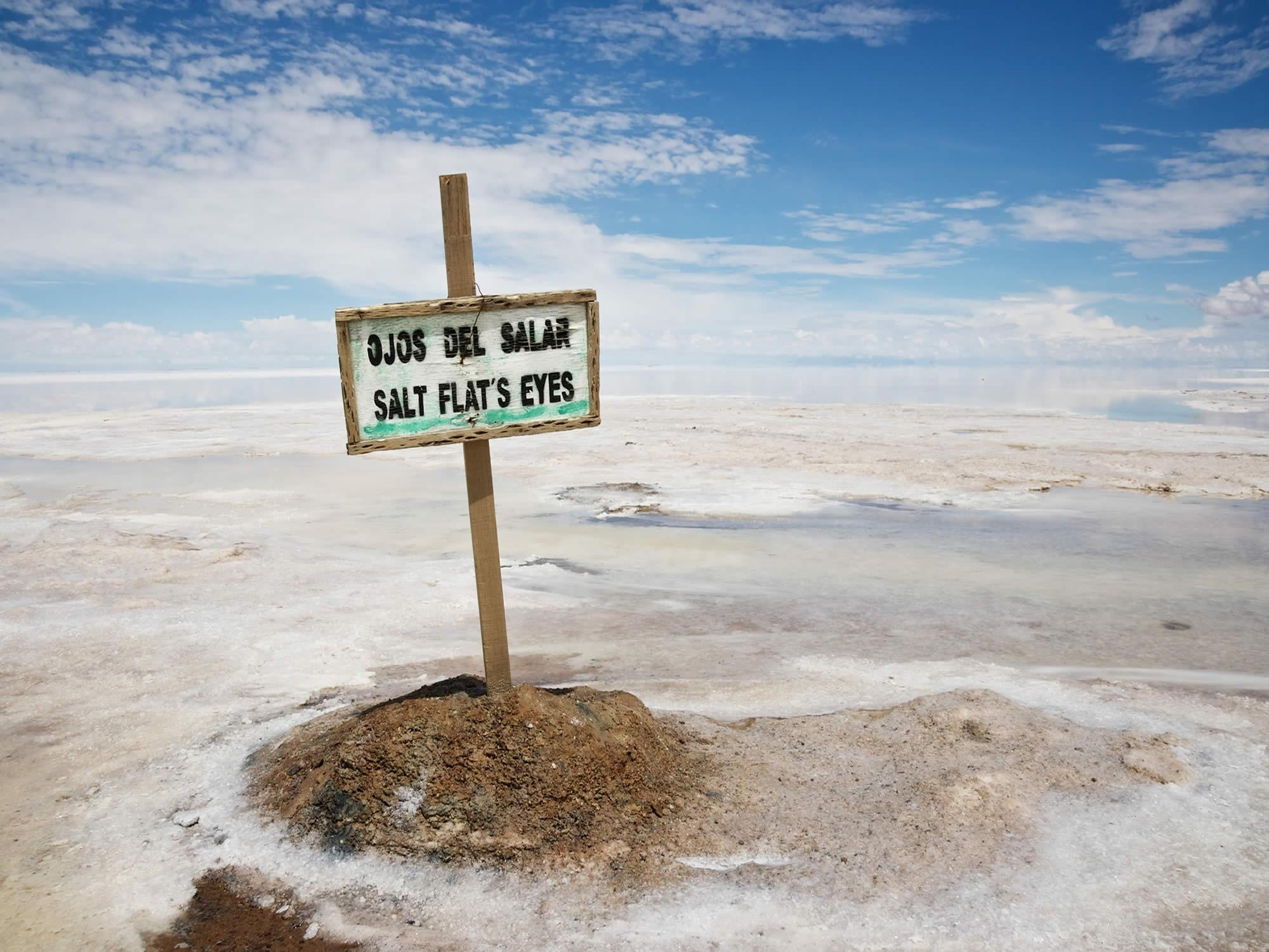 Ojos del Salar - Eyes of the Salt Flat