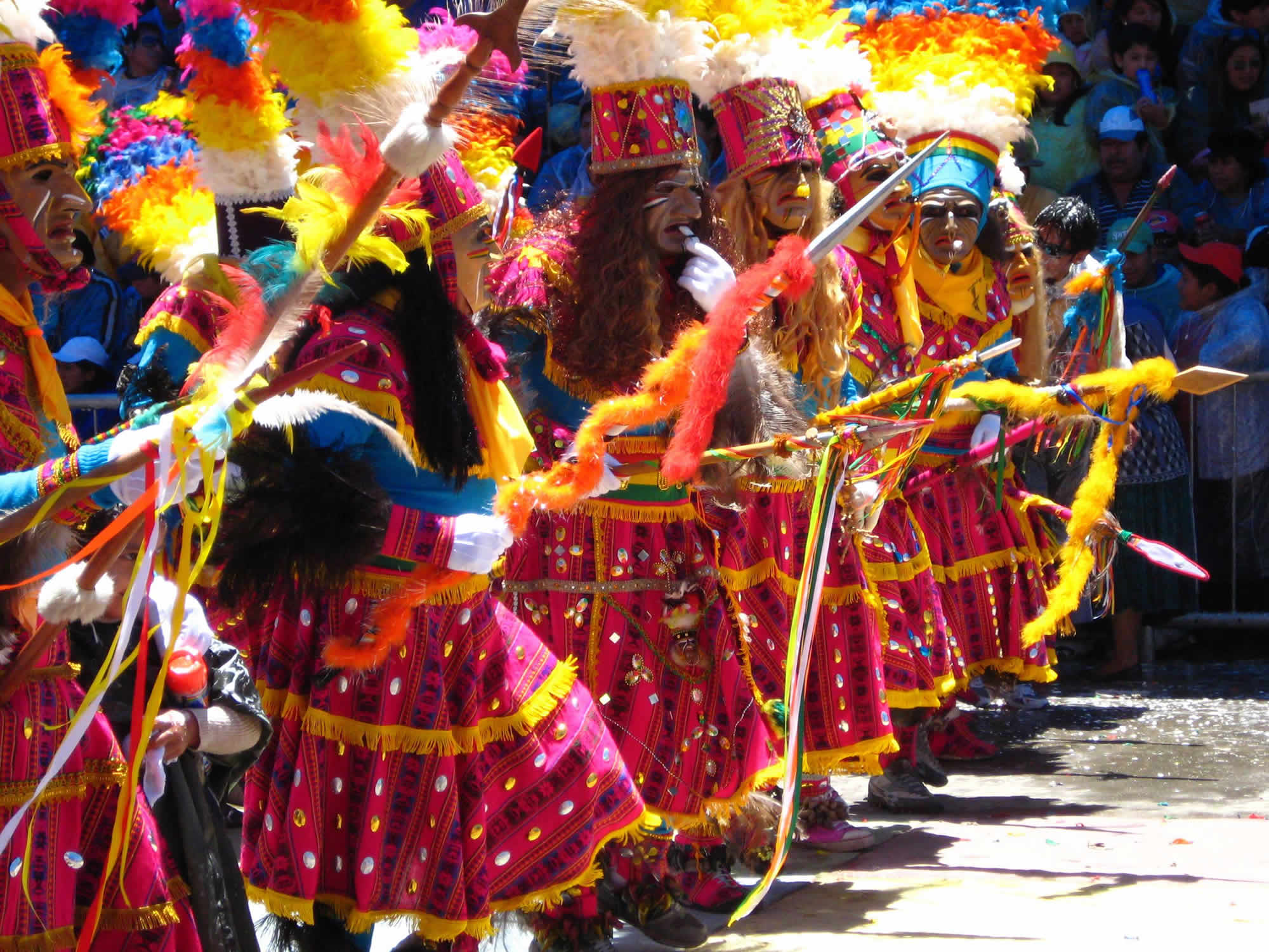 Program and route of the Oruro Carnival 2020