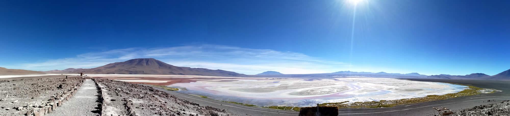 Red Lagoon, Laguna Colorada, Uyuni