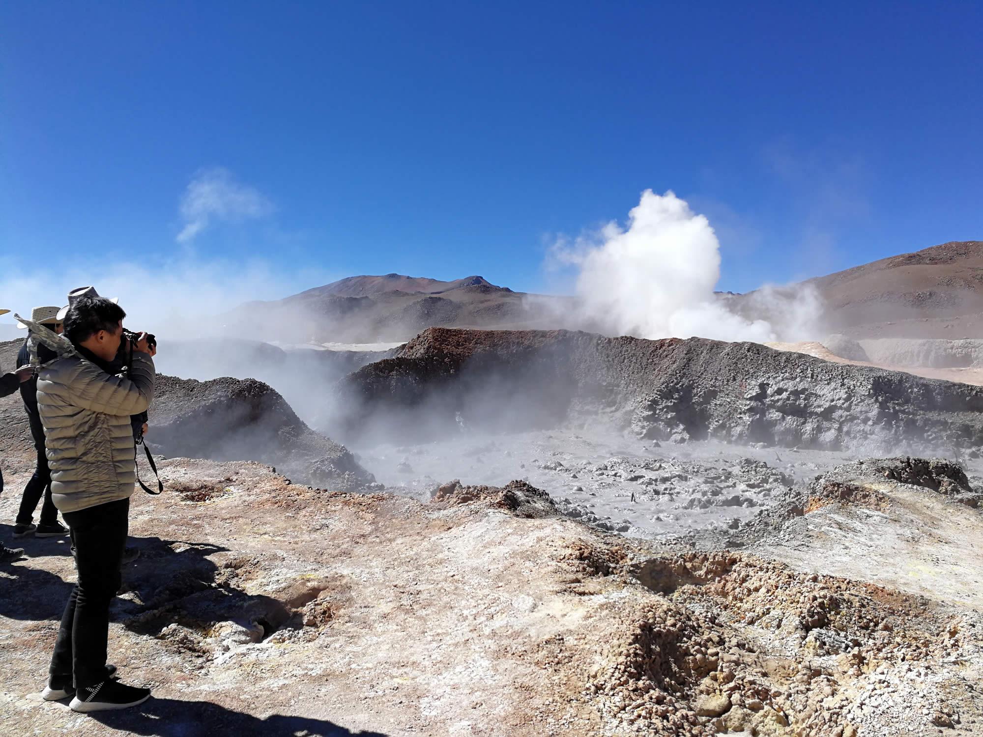 Sol de Mañana geysers, Eduardo Avaroa Reserve, Uyuni, Bolivia