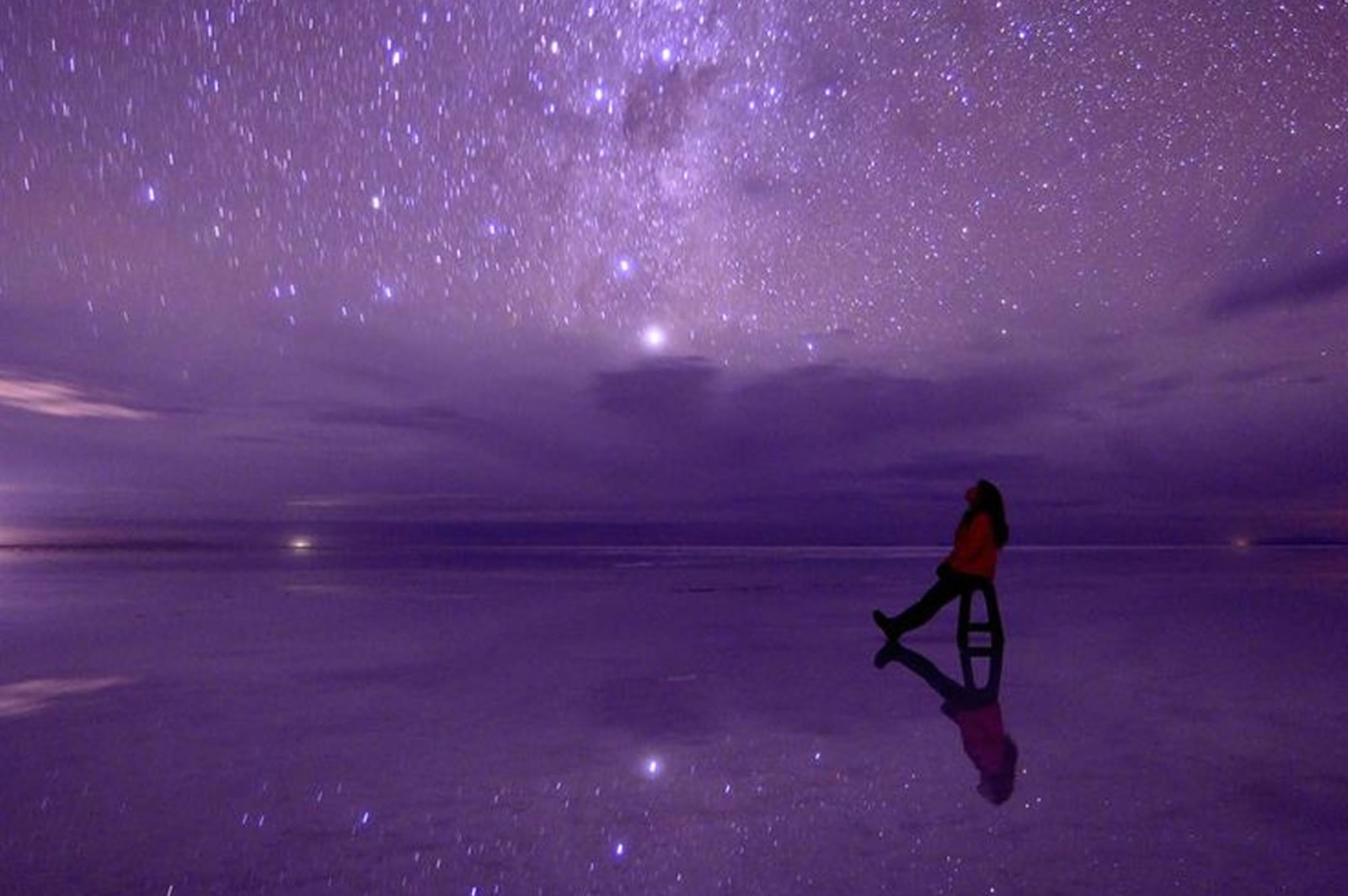 Stargazing in the Salar de Uyuni