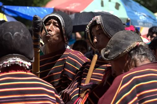 Tarqueada Dance at the Oruro Carnival