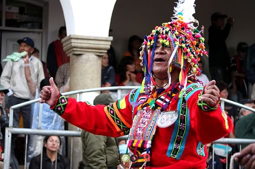 Tinkus Dance at the Oruro Carnival