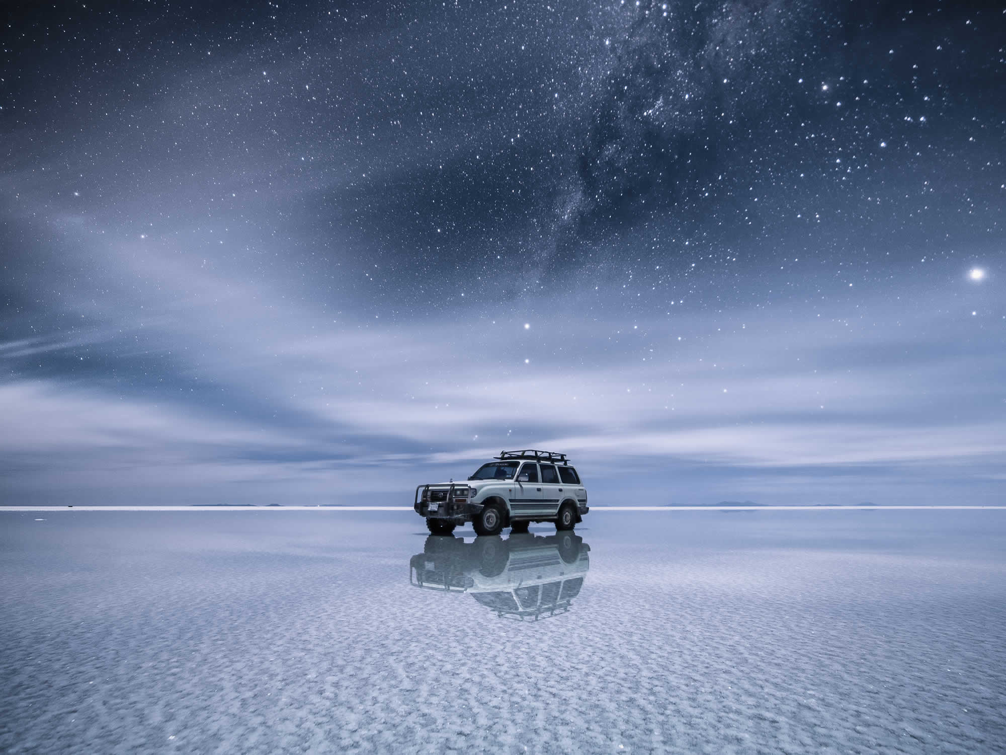 Stargazing in Uyuni