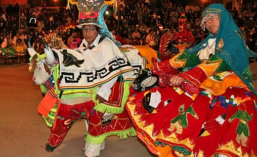 Waka Tokori Dance at the Oruro Carnival