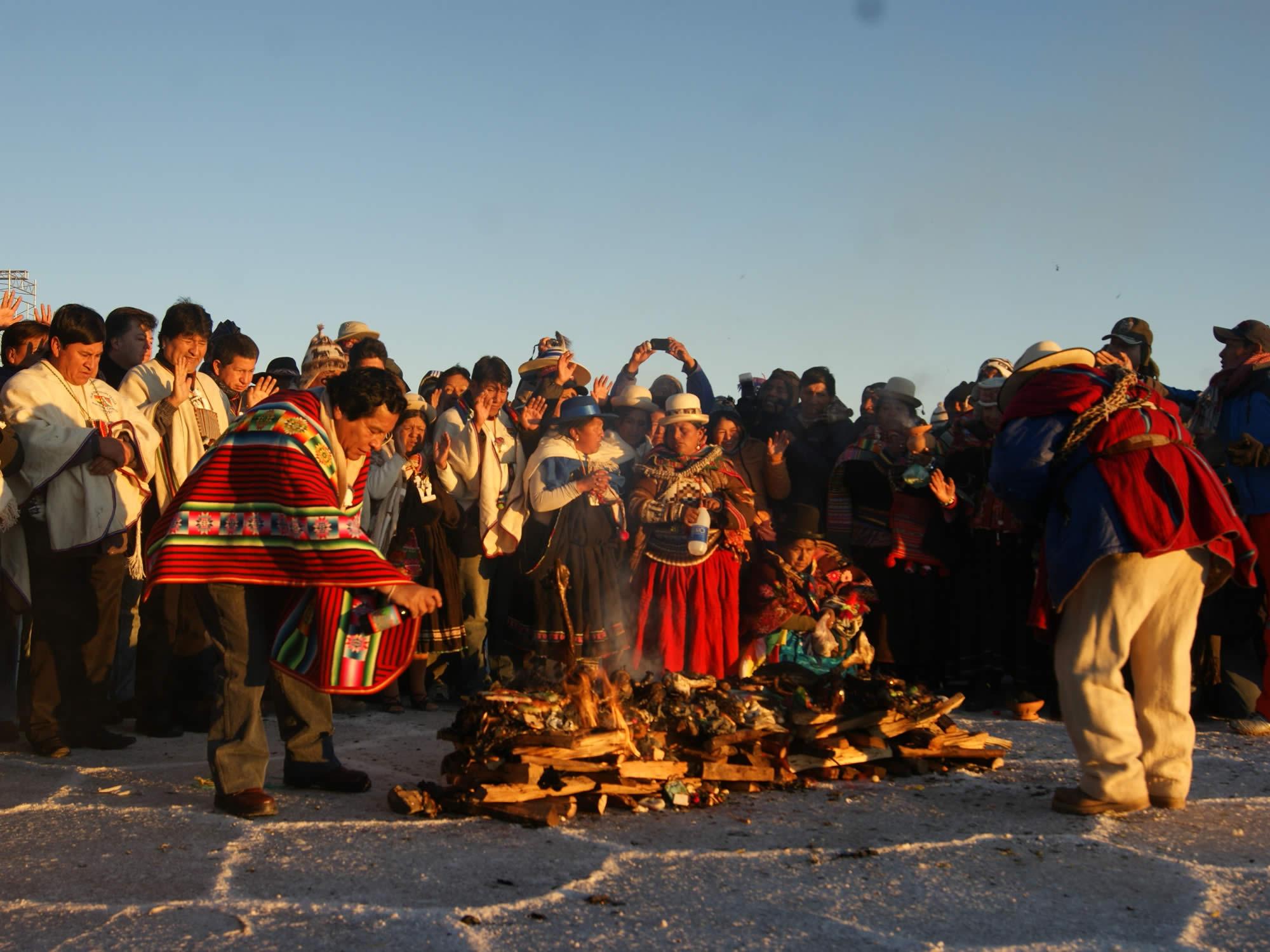 Winter Solstice - Willkakuti - Aymara New Year