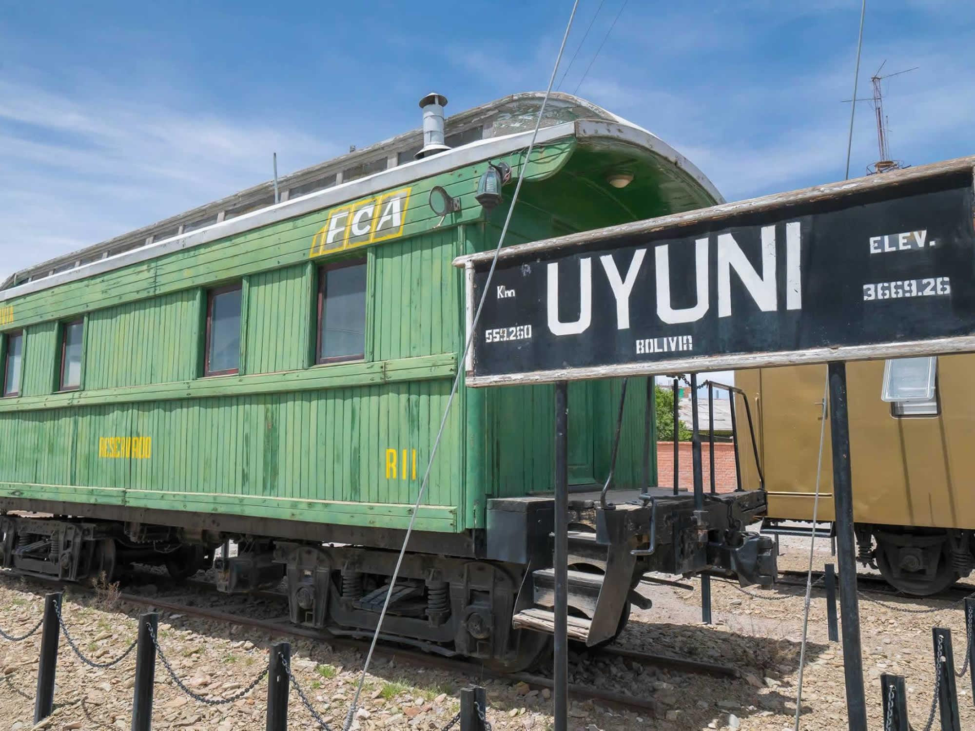 Town of Uyuni