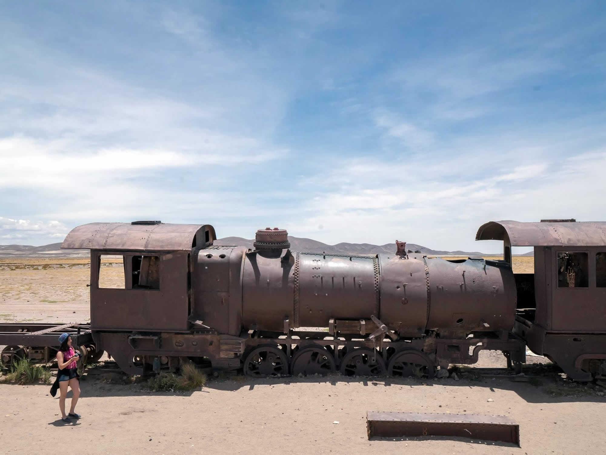 Cementerio de Trenes - Train Graveyard