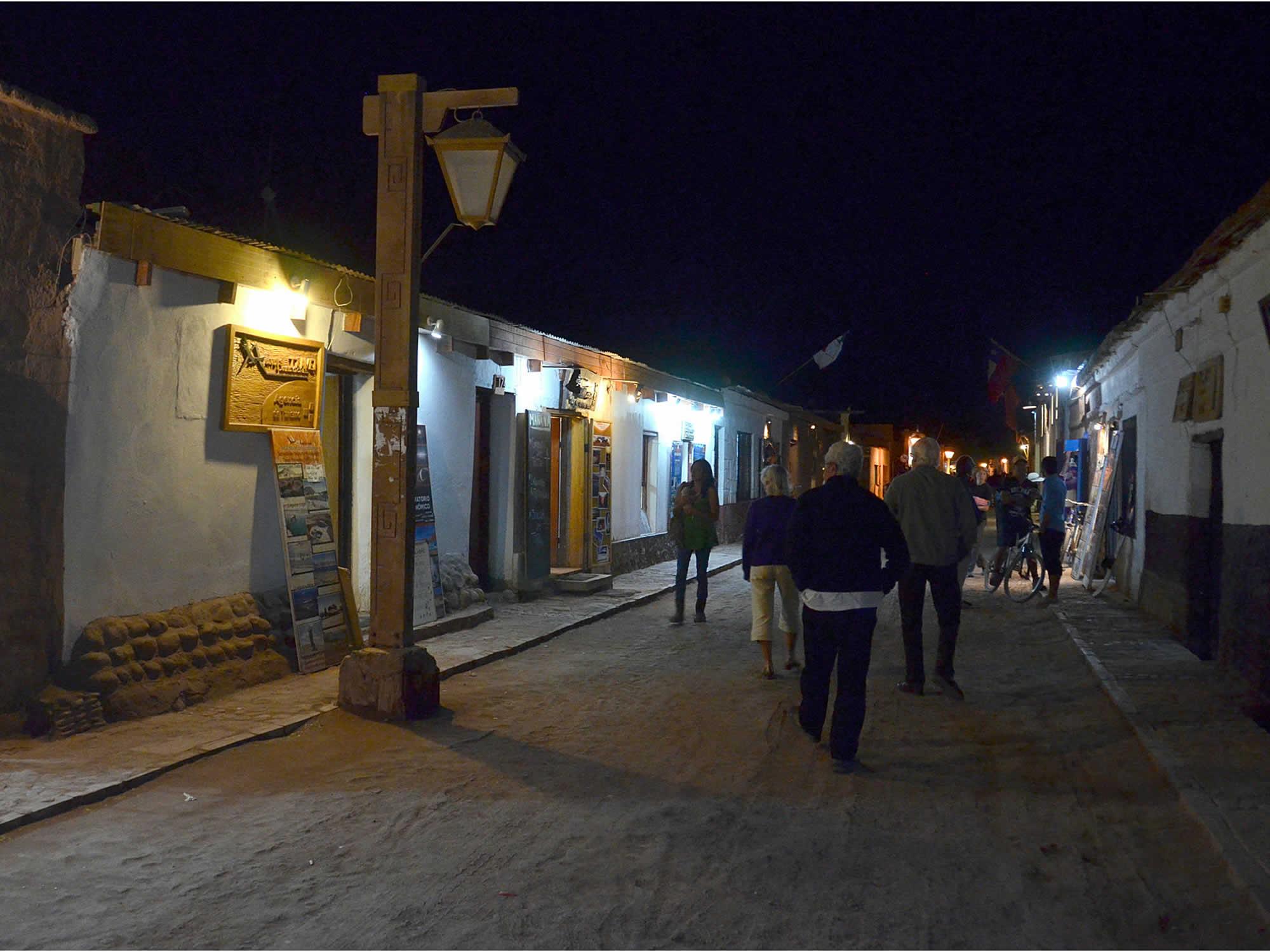 Town of San Pedro de Atacama in Chile, Uyuni