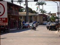 Town center of Cobija