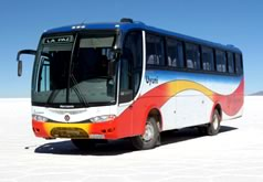 Todo Turismo bus to Uyuni