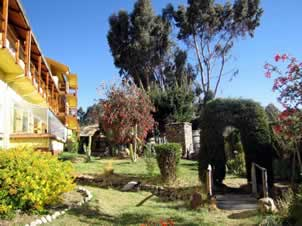 Inca Utama Hotel and Spa, a 5 star Hotel in Titicaca