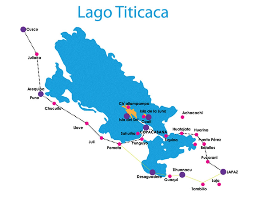 Titicaca bus routes