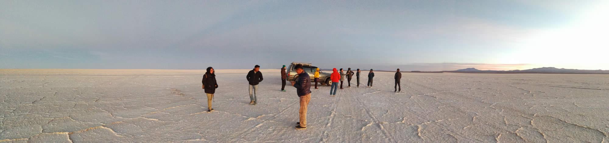 Salt Flats Bolivia Dry Desert 2020