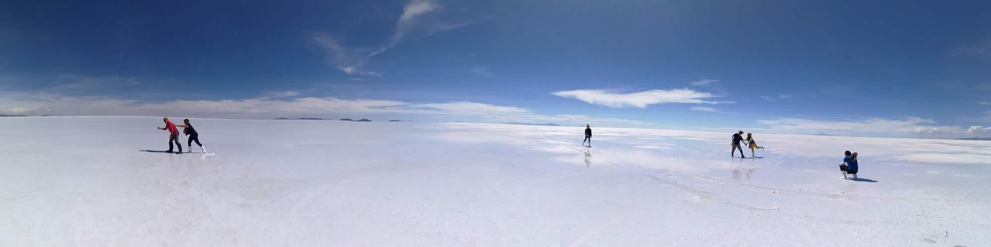 Salt Flats Bolivia Panorama 2020
