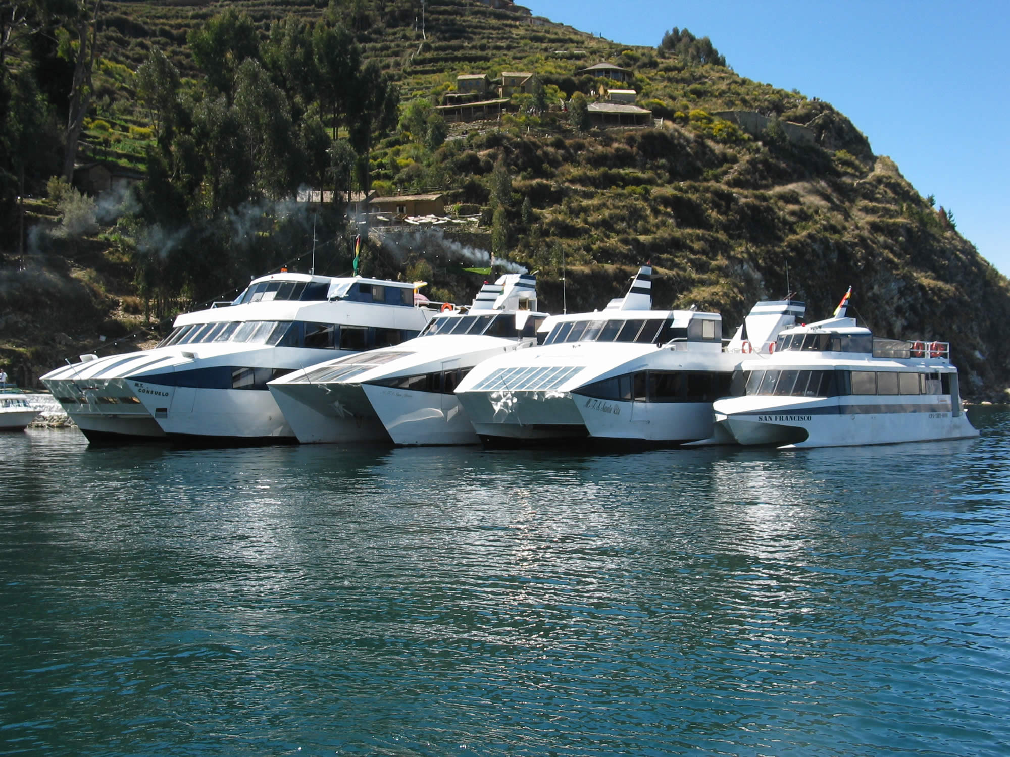 Special offer for New Year - Catamaran La Paz - Isla del sol - La Paz , Lake Titicaca Tours, La Paz