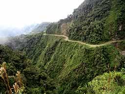 Coroico Death Road , La Paz