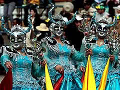 Oruro Carnival 2019 Package from Gran Hotel Bolivia, Oruro