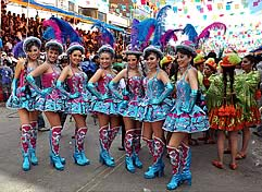 Oruro Carnival 2013 Package from Bernal Hotel