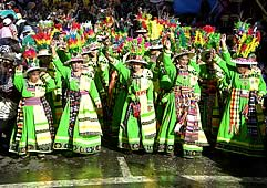 Oruro Carnival 2013 Package from Residencial Gran Boston