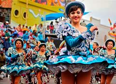 Oruro Carnival 2020 Package from Residencial Gran Florida, 3 Nights