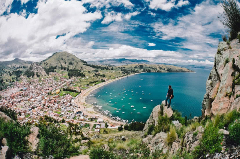 Copacabana,Lake Titicaca