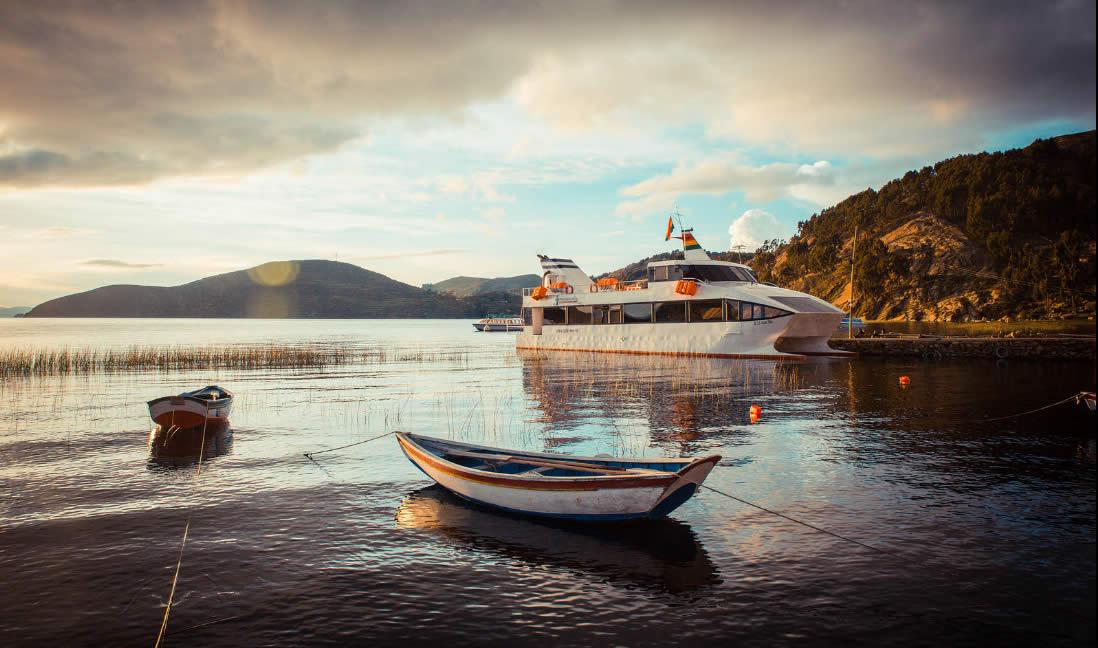 Catamaran Cruise La Paz - Lake Titicaca - Sun Island (Isla del Sol) - La Paz, 1 Full Day