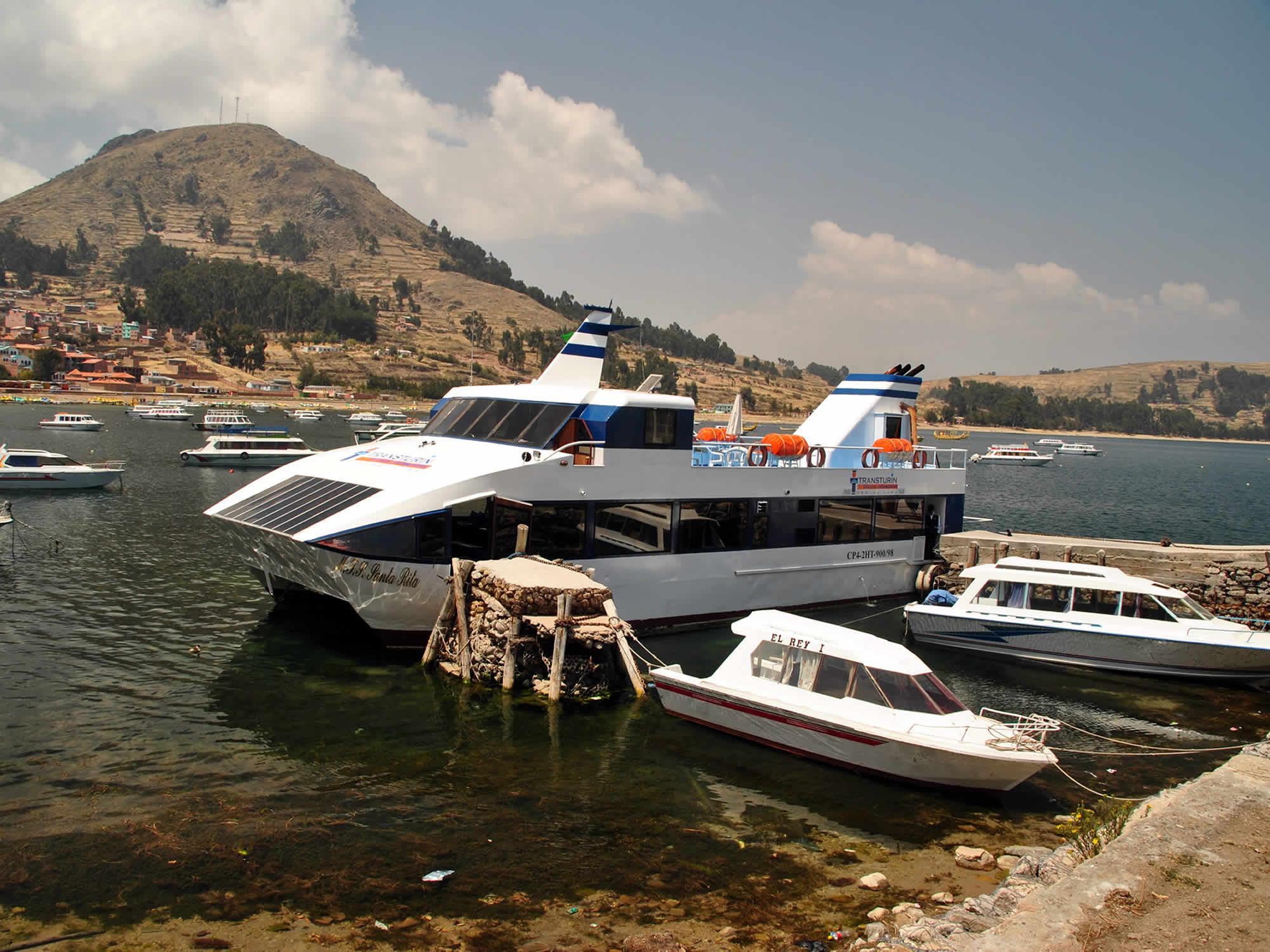 Puno - Titicaca Catamaran Day Cruise, La Paz