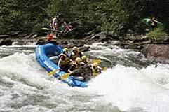 Rafting por el Rio Espiritu Santo, Chapare, Villa Tunari