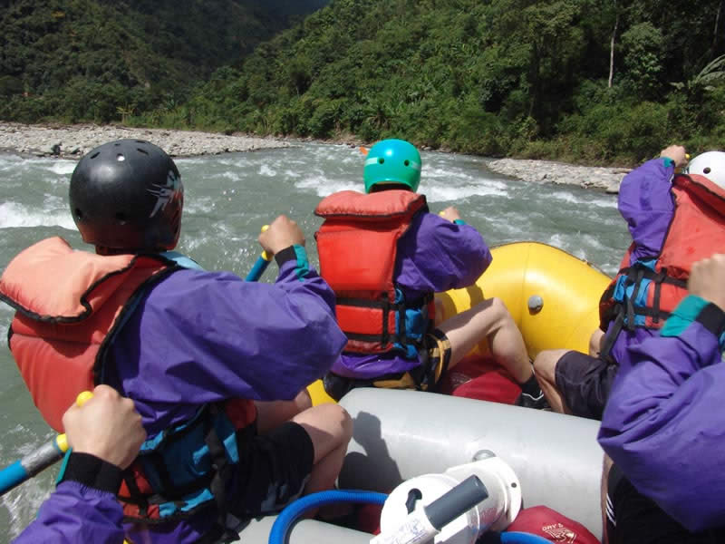 Rafting and Zip Line in North Yungas, La Paz