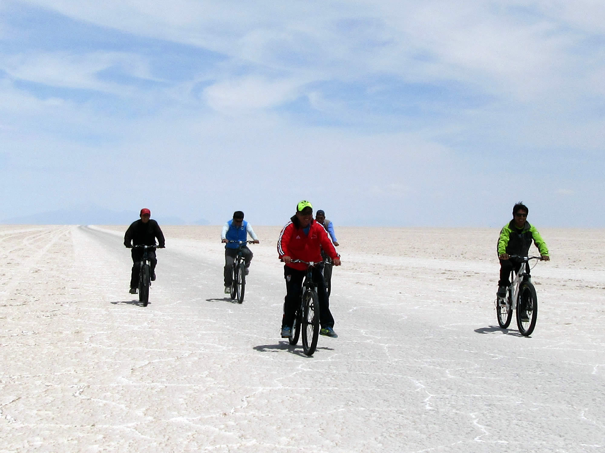 Uyuni Salt Flats - Biking - Sunset and Stargazing, 1 Full Day