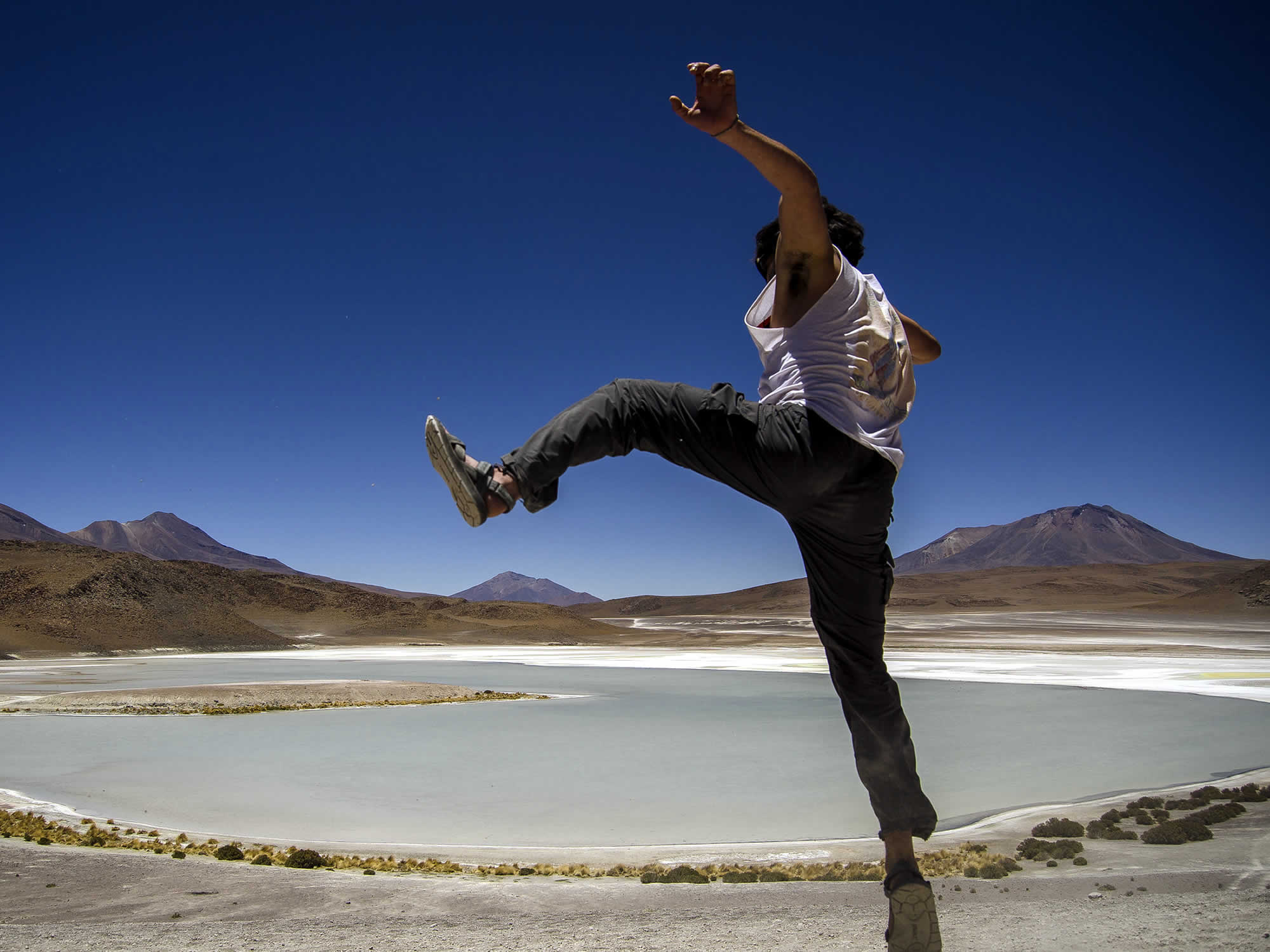 Uyuni Salt Flat - Lagoons and San Pedro de Atacama (Chile), Uyuni