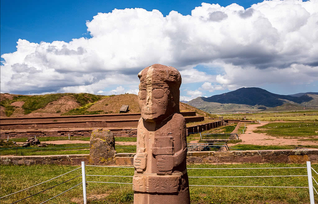 Tiwanaku Shared Tour, Full Day. The tour starts at 08:30am and ends at 16:00 hrs.