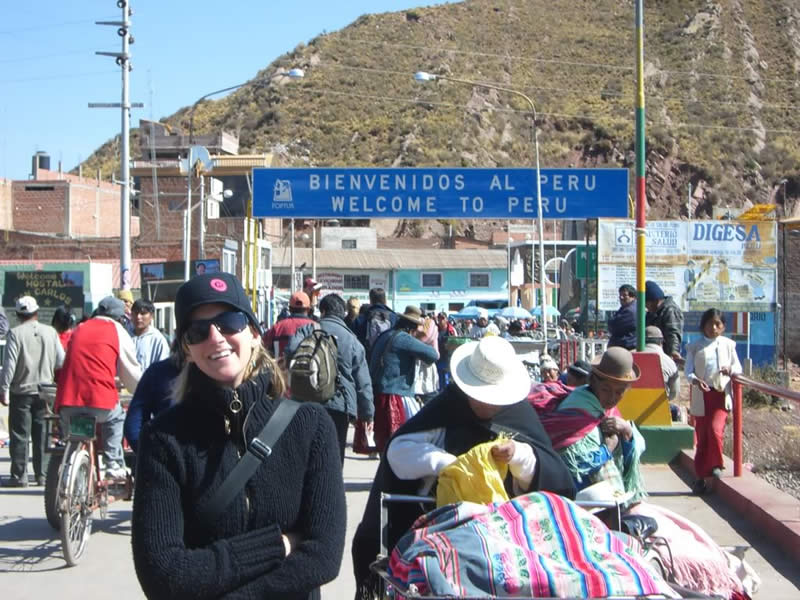Desaguadero border crossing