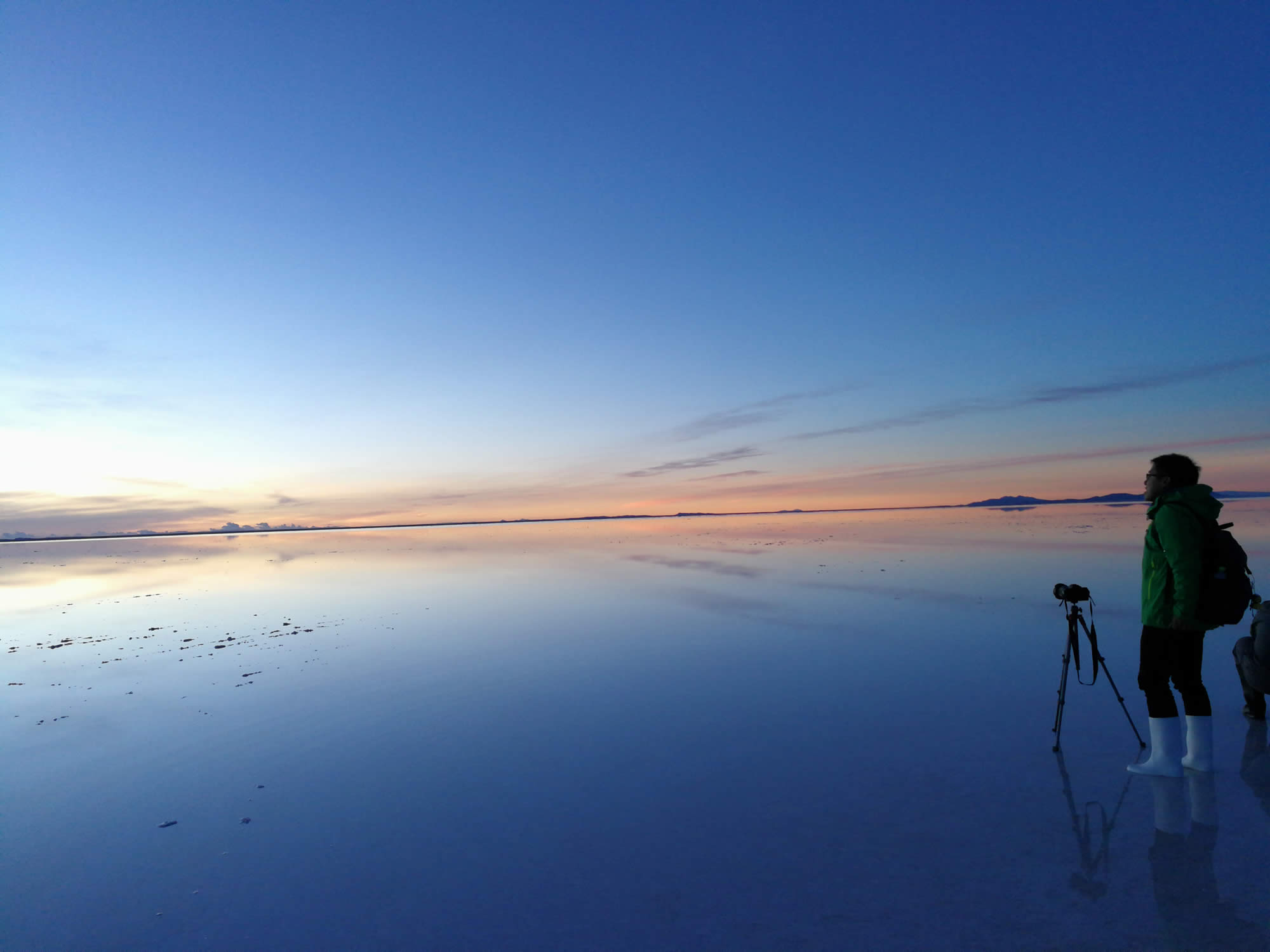 Salt Flats Bolivia Wet Season 2020