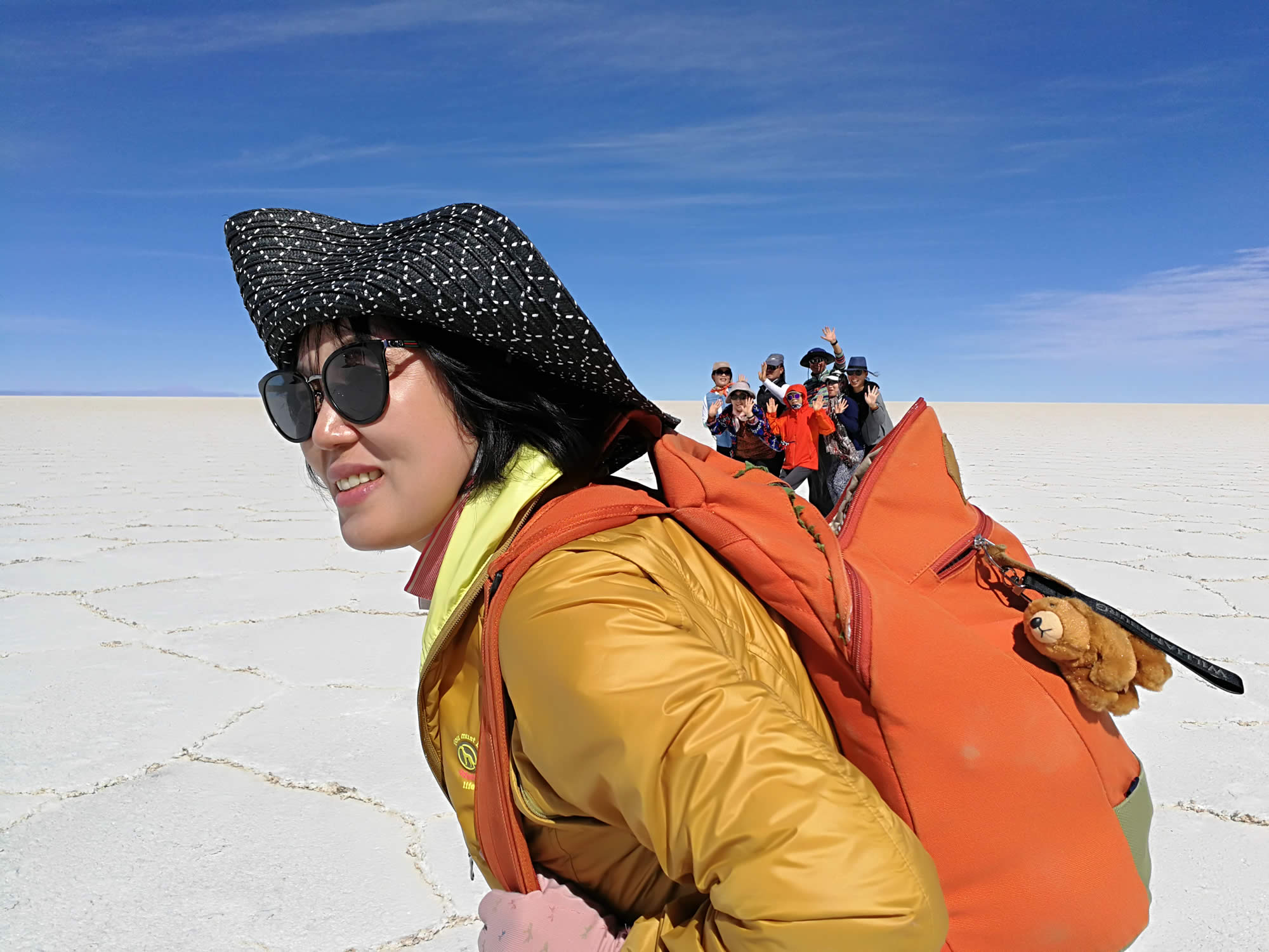 Uyuni Amazing Fun Perspective Photo